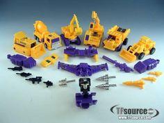 #transformer transformers g2 - devastator - loose - 100% complete