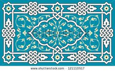 Floral Arabic Ornament by Azat1976, via Shutterstock