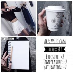 black and white instagram feed VSCO filter SE3