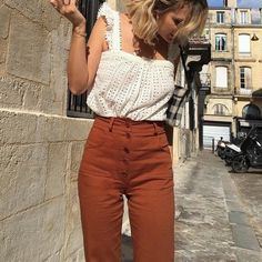Button down pants