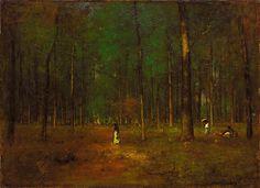 George Inness - Georgia Pines, 1890