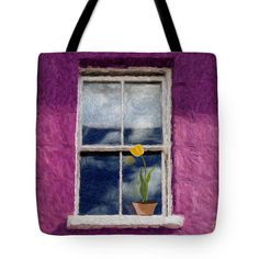 Under My Lover's Window Tote Bag by Vincent Franco