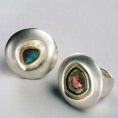Partnerring Sterling Silber Zirkonia Libelle Logical Damen Ring Verlobungsring