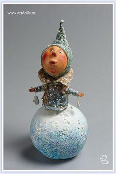 Вельте Ирина. Авторская кукла 3