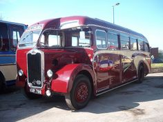 Preserved Economic Associated Coachbuilders bodied Albion Valiant KUP 799 at a rally in Brough.