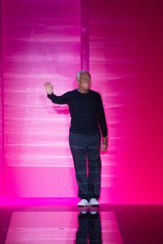 Giorgio Armani at Armani Privé Fall 2015 Couture - Collection - Gallery - Style.com