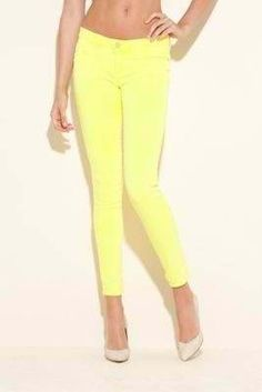 Yelloww skinnys