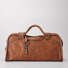 Vintage Re-Issue Piped Satchel - $198.00 - Fossil bags are my style, high quality, and a manageable price point (if i find them at the outlet!)