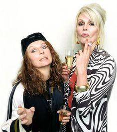 Eddie & Patsy ....sweetie dahling!
