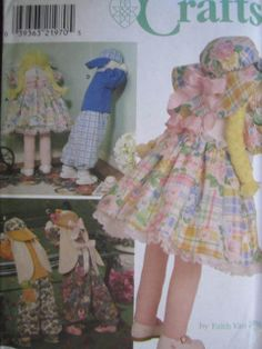 See Sally Sew-Patterns For Less - Crying in Corner Doll