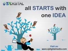 It all starts with one idea. SJ Digital Media aims to provide a spectrum of website services and do so with professionalism, enthusiasm and dedication.  Visit us at www.sjdigitalmedia.com or call us at +91 935 110 7374 for any query. #SJDigitalMedia #DigitalMarketing #eCommerce #WebsiteDevelopment #Design #SEO