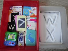 Rockabye Butterfly: Letter W and X Workboxes
