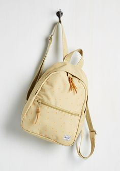 For Ever and a Day Hike Backpack. Caught yourself admiring this mini backpack? #tan #modcloth