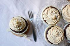 Pixi mit Milch | Rezept: Schoko-Cupcakes mit Cashew-Frosting | http://www.mitmilch.at/pixi