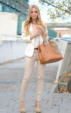 48 Attractive Business Casual Outfits For Women 2020