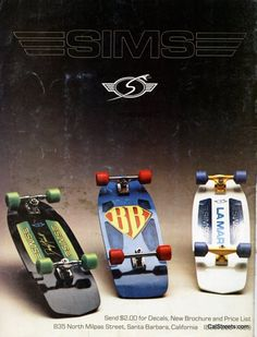 Skateboarder Magazine / December 1979 / Sims Bowman, Lamar, Andrecht - I can remember this ad like it was yesterday...