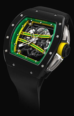 La Cote des Montres : La montre Richard Mille RM 61-01 Yohan Blake - Le deuxième homme le plus rapide au monde