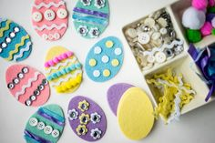 Felt Easter Egg Kids Craft Activity