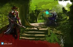 Batalla Samurai del futuro androide Daniel Canon