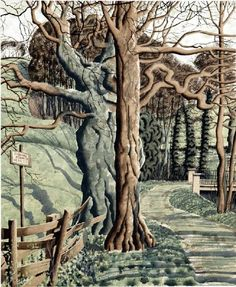 Rigg Bank, by Simon Palmer. Watercolor Artists, Watercolour, Over The River, Modern Landscaping, Tree Art, Art Images, Landscape Paintings, Art Boards, British Artists