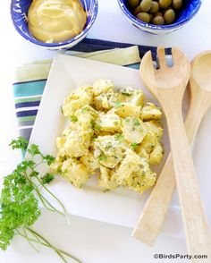 Summer Recipe: Olive & Herbs Potato Salad