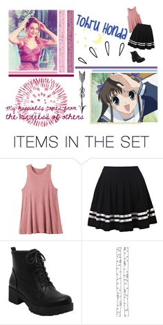 """Round 08: Tohru Honda"" by emmantanz ❤ liked on Polyvore featuring art"