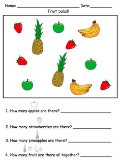 Visual Math Tasks for Children with Autism by theautismhelper.com