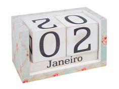 Calendário Cubos