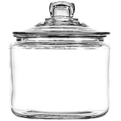 Shop for Anchor Hocking Corporation 3 Quart Storage Jar with cover, Heritage Hill. Get free delivery On EVERYTHING* Overstock - Your Online Breakroom Supplies Destination! Glass Storage Jars, Glass Jars With Lids, Glass Canisters, Food Storage Containers, Glass Containers, Jar Storage, Kitchen Canisters, Quart Jar, How To Make Terrariums