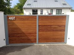 driveway wall and gates - Google Search                                                                                                                                                                                 More