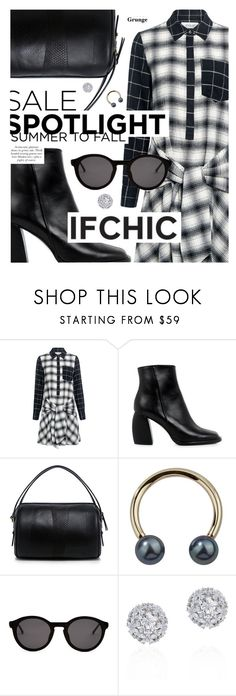 """""""Summer Sale featuring ifchic.com"""" by cultofsharon ❤ liked on Polyvore featuring 10 Crosby Derek Lam, TIBI, Thierry Lasry, Blue Blood and Fallon"""