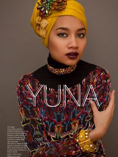 Singer Yuna for the Spring Issue of The Untitled magazine