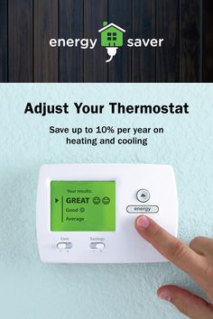 Learn how to adjust your thermostat to stay comfortable and save energy and money at home. Hawaiian Electric, Energy Saver, Diy Home Repair, Energy Efficiency, Save Energy, Saving Money, Hacks, Learning, Energy Conservation
