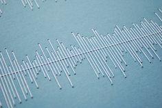 Stitched Visualisation of music