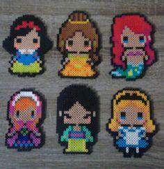 Disney's  Princess Perler Beads
