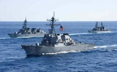 Американские военные признались, что ведут разведку у берегов РФ.             В Пентагоне признали, что уберегов России курсируют разведывательные корабли американского фло�