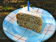 Coconut cake with lemon coconut frosting. This is my birthday cake every year, it is AWESOME. Coconut cake is my favorite.