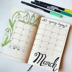 Hello March . . #thecraftdesk #bulletjournal #hellomarch #march #spring #springtime #springishere #springhassprung #lettering #handlettering #caligraphy #moleskine #journaling #monthlyspread #bulletjournaling #bujonewbie #bujo2018 #bujoinspo #bujospread #bujolove #calendar #bulletjournalinspiration #creativejournal #journaltherapy #creative #planner #planning #showmeyourplanner