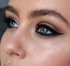 ♥ Pinterest: DEBORAHPRAHA ♥ The perfect eyeliner and eyeshadow combination
