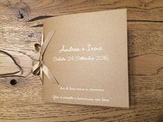 Libretto messa matrimonio Andrea e Irene - 24 settembre 2016