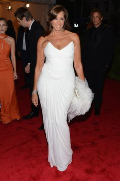 She massaged my face once when I was interviewing her for the WSJ: Donna Karan at #MetGala. Yoga does the body good.
