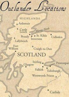 Hecho por una amiga, los lugares de Escocia que recorren los protas de la saga Forastera