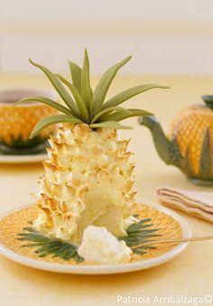 Pinapple cheesecake / Cheesecake de piña del Curso Online de Repostería Fácil y Chic de Patricia Arribálzaga