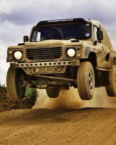 Military Land Rover - Bowler Wildcat