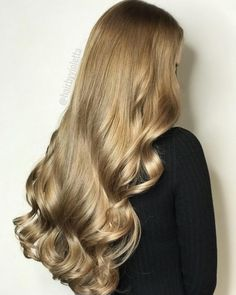 15 Best Golden Brown Hair Colors for 2020 Golden Brown Hair Color, Brown Hair Colors, Ponytail Hairstyles, Pretty Hairstyles, Hair Inspo, Hair Inspiration, Luscious Hair, Corte Y Color, Blonde Highlights