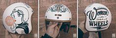 Hedon Helmet Hand Painted byBrusco.com