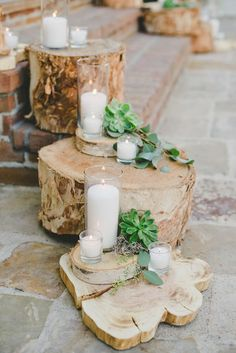 succulent ceremony details - photo by Onelove Photography