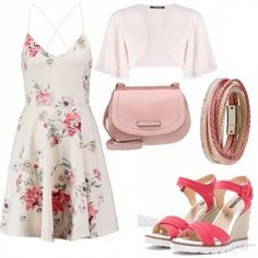 Outfit Shades of pink