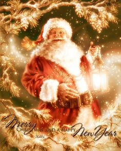 Merry Christmas & Happy New Year ! Merry Christmas & Happy New Year ! Xmas Gif, Merry Christmas Gif, Christmas Scenes, Merry Christmas And Happy New Year, Father Christmas, Christmas Love, Christmas Pictures, Vintage Christmas, Christmas Holidays