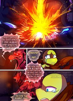 Teenage Mutant Mages Turtles Page 39 by GolzyBlazey.deviantart.com on @DeviantArt